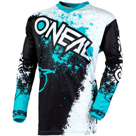 O'Neal Element Maillot Impact Hombre, black/teal